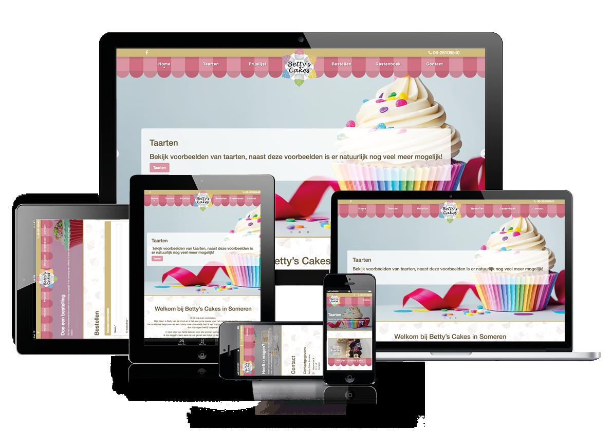 Betty's Cakes -